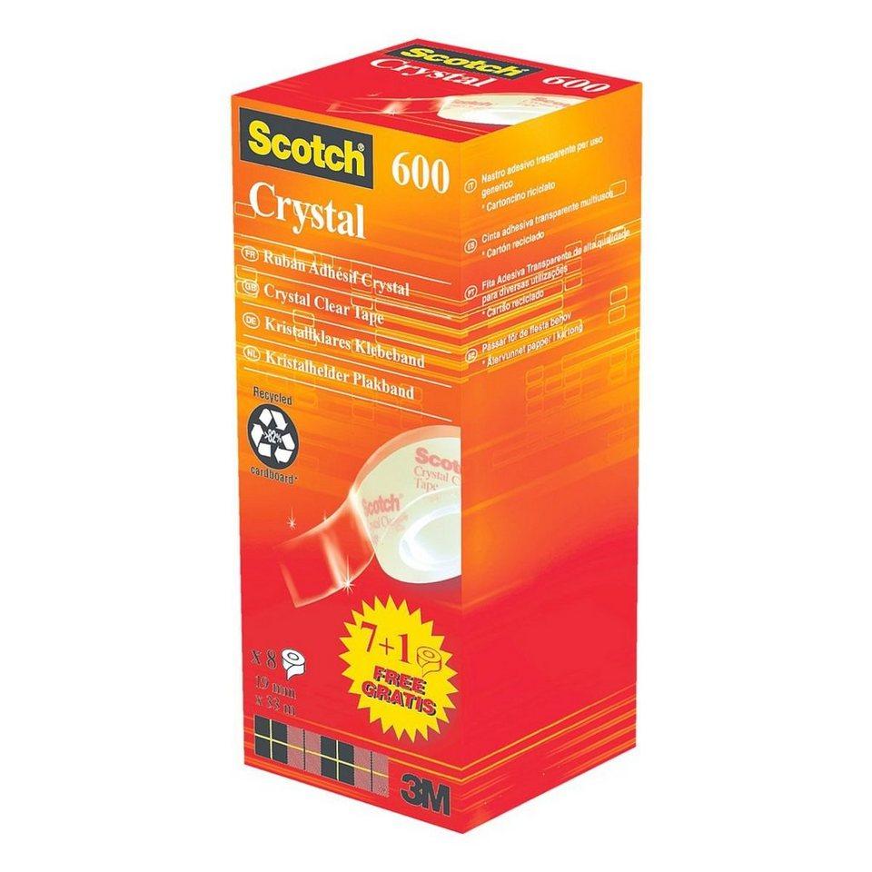 Scotch Klebeband-Set »Crystal Clear Tape 600« in 13781
