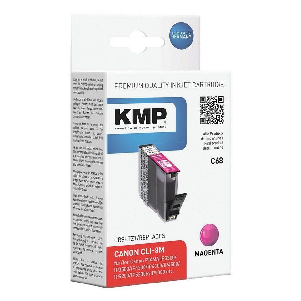 KMP Tintenpatrone ersetzt Canon »CLI-8M«