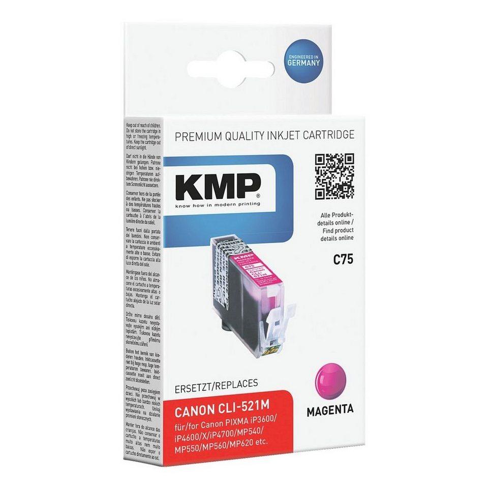 KMP Tintenpatrone ersetzt Canon »CLI-521M«