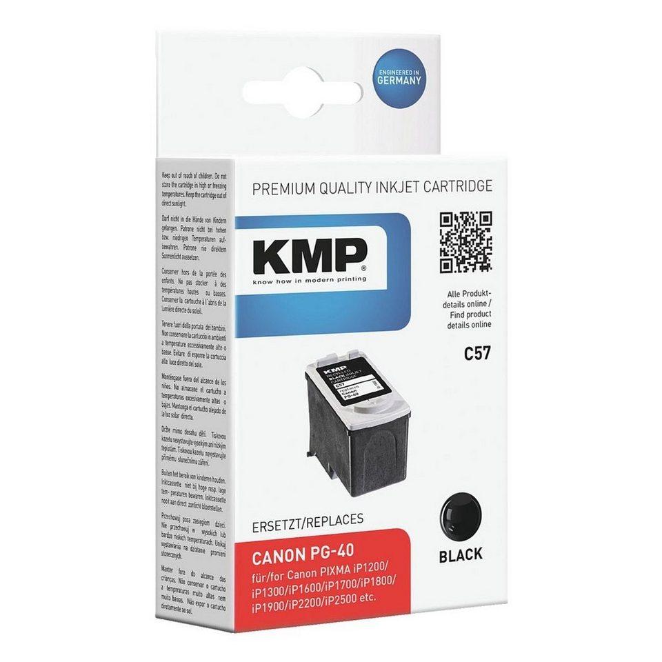 KMP Tintenpatrone ersetzt Canon »PG-40«