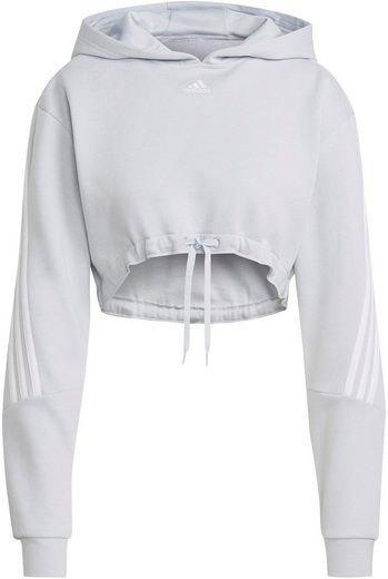 adidas Performance Kapuzensweatshirt »CROP HOODIE«