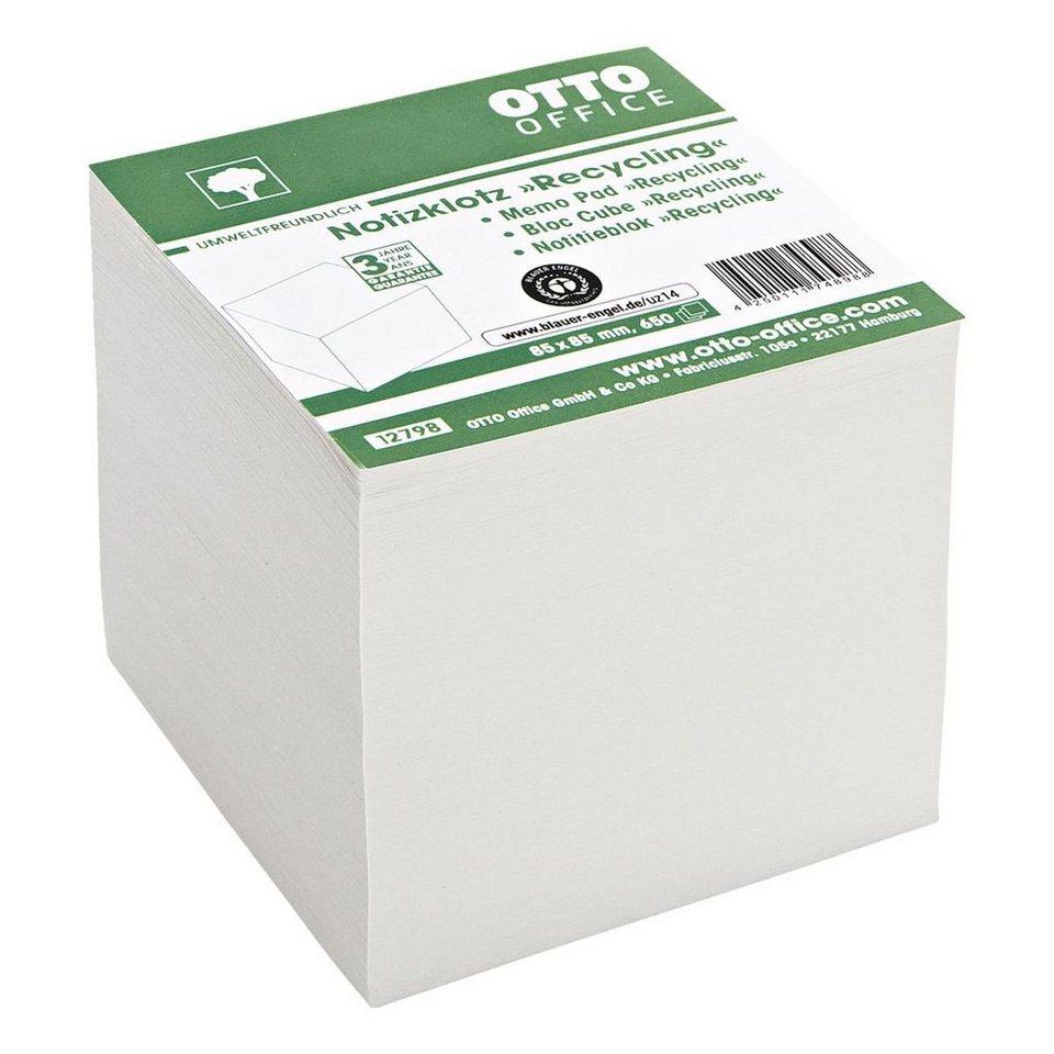 OTTOOFFICE_NATURE Notizklotz »Recycling«