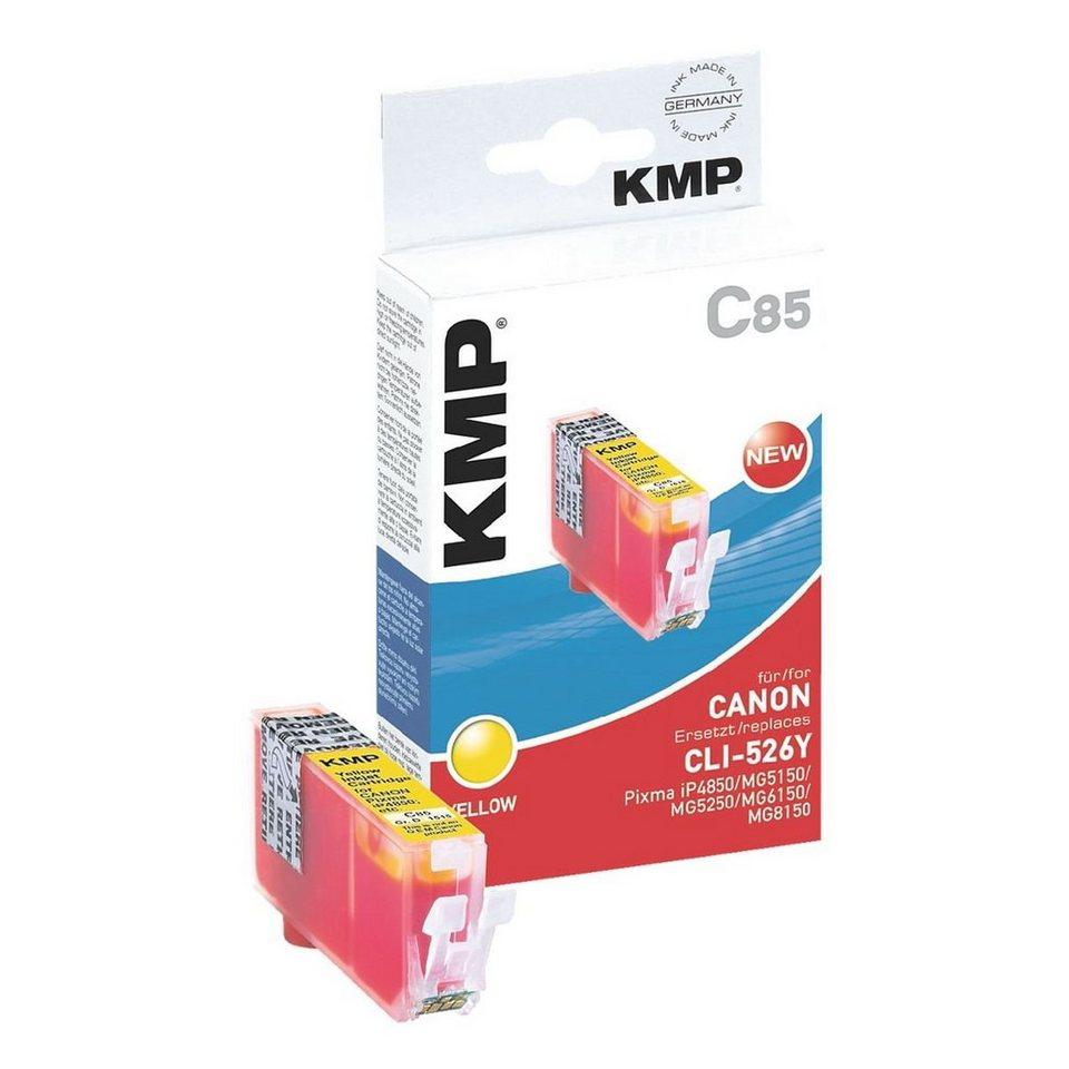 KMP Tintenpatrone ersetzt Canon »CLI-526Y«