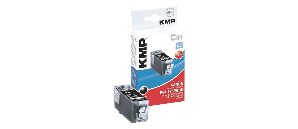KMP Tintenpatrone ersetzt Canon »PGI-525PGBk«