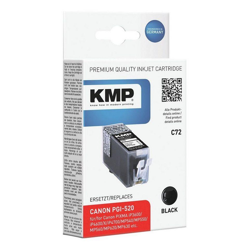 KMP Tintenpatrone ersetzt Canon »PGI-520«