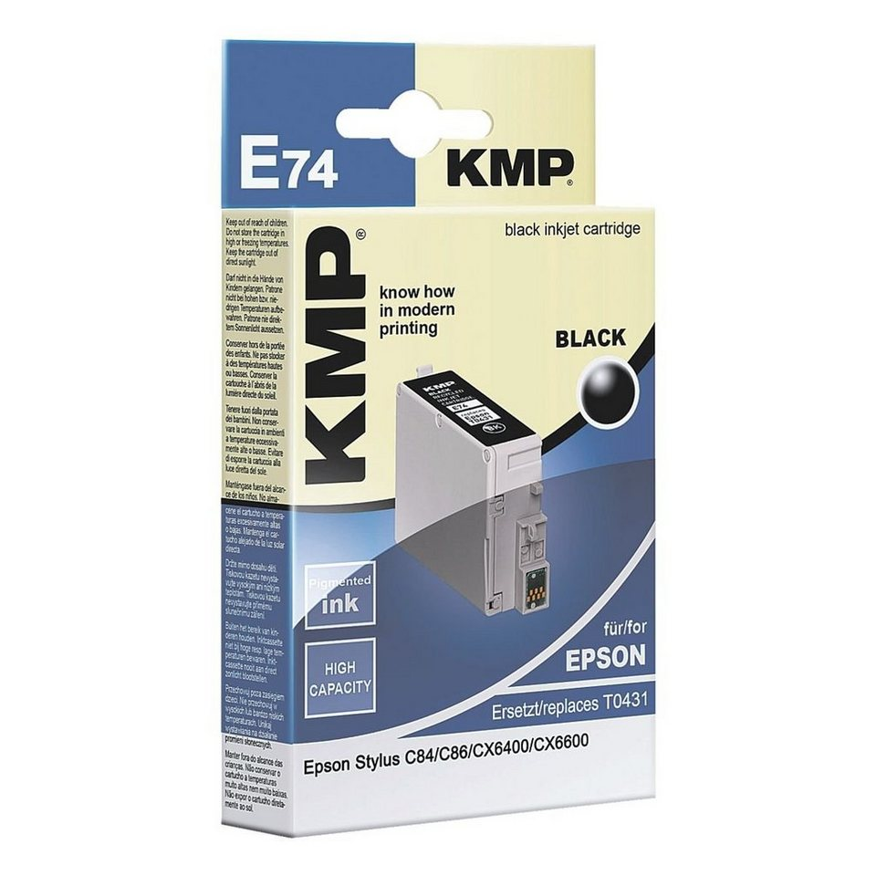 KMP Tintenpatrone ersetzt Epson »T043140« HC
