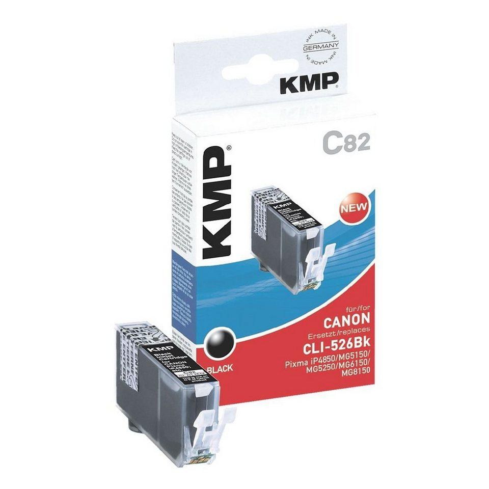 KMP Tintenpatrone ersetzt Canon »CLI-526Bk«