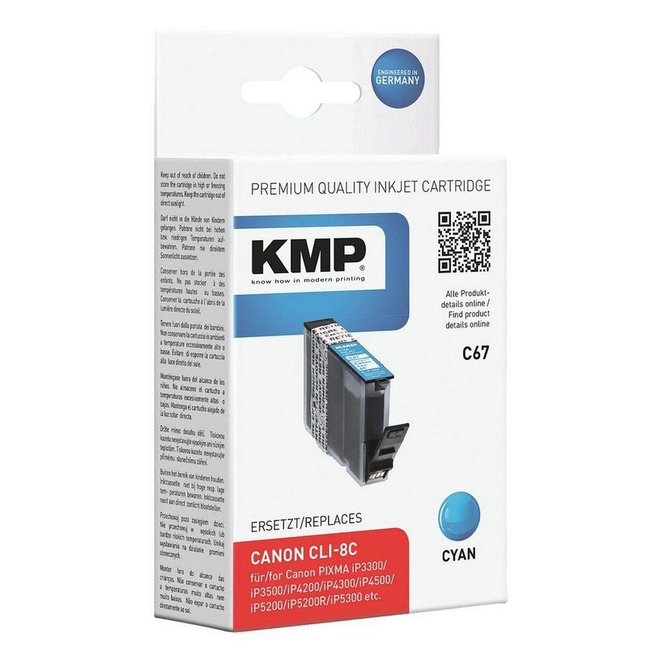 KMP Tintenpatrone ersetzt Canon »CLI-8C«