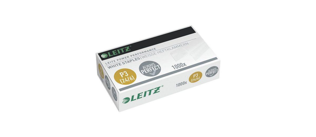 Leitz Weiße Heftklammern »Power Performance 3«