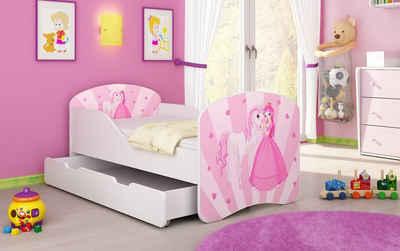 Baidani Kinderbett »Luna«, inkl. Matratze, Schublade und Lattenrost, verschiedene Bilder zur Auswahl!