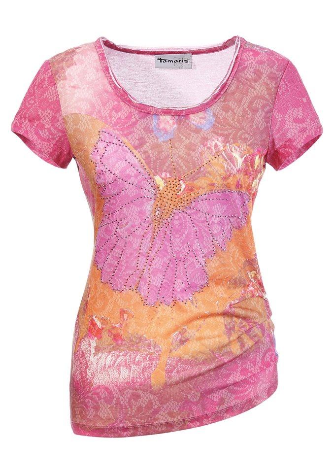Tamaris T-Shirt in pink