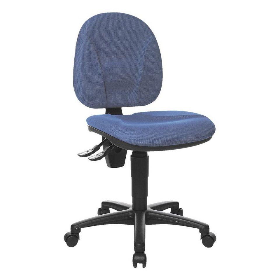 Topstar Bürostuhl »Point 10« ohne Armlehnen in blau