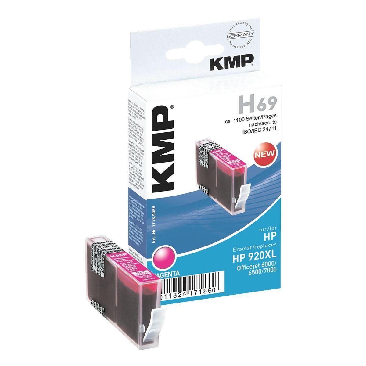 KMP Tintenpatrone ersetzt HP »CD973AE« Nr. 920XL