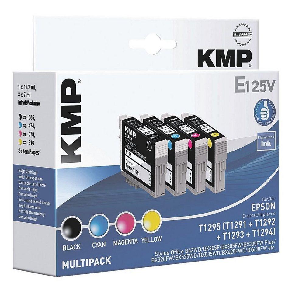KMP Tintenpatronen-Set ersetzt Epson »T1295«