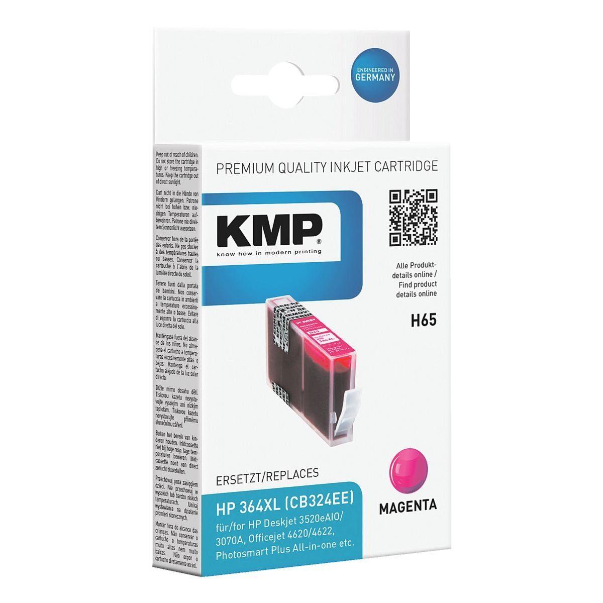 KMP Tintenpatrone ersetzt HP »CB324EE« Nr. 364XL