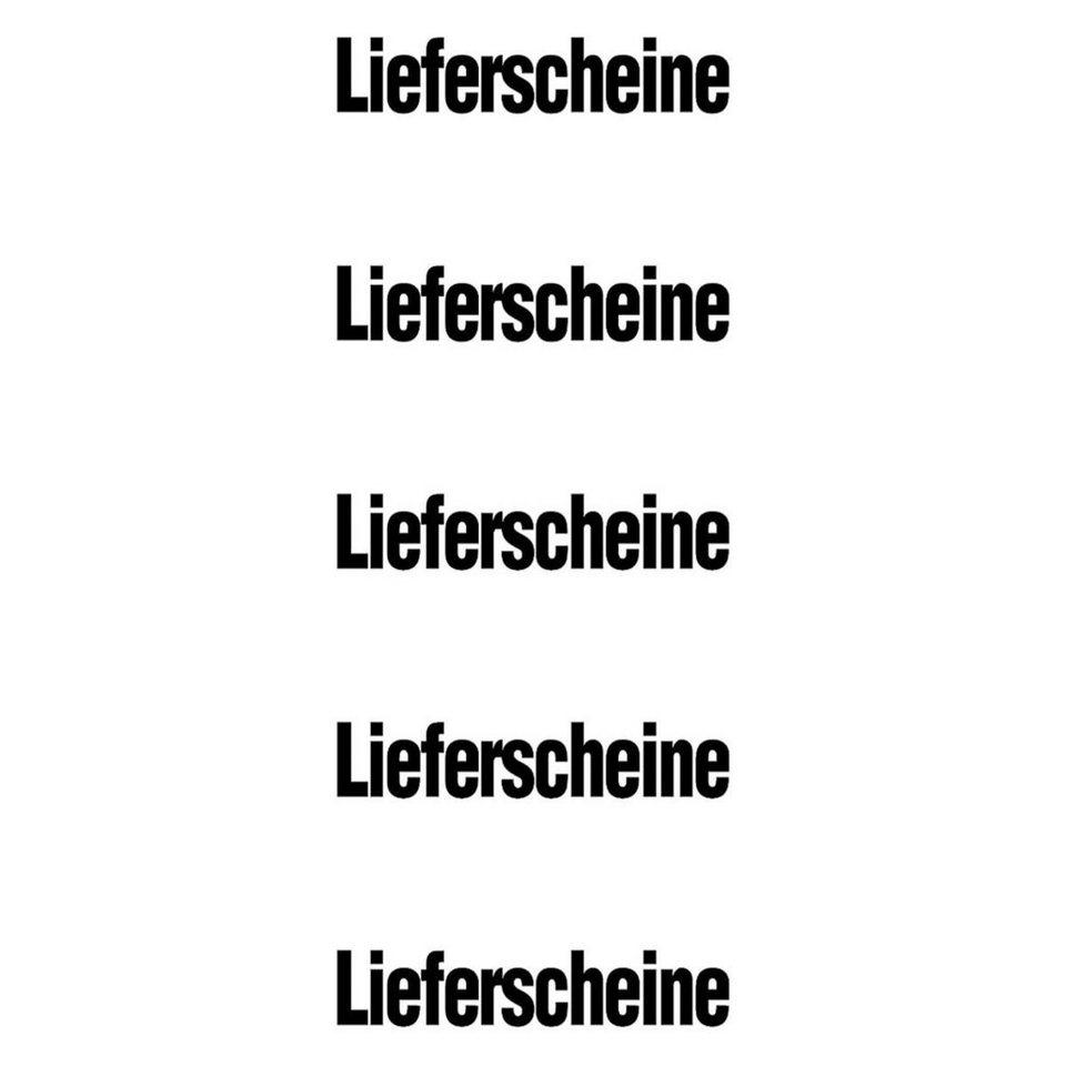 OTTO Office Standard Selbstklebende Inhaltsschilder »Lieferscheine«