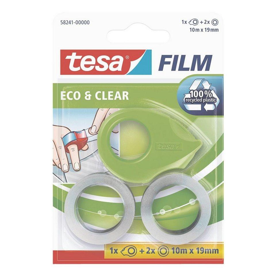 tesa 2er-Set Klebeband »eco & clear« mit Mini-Abrol... in 13986