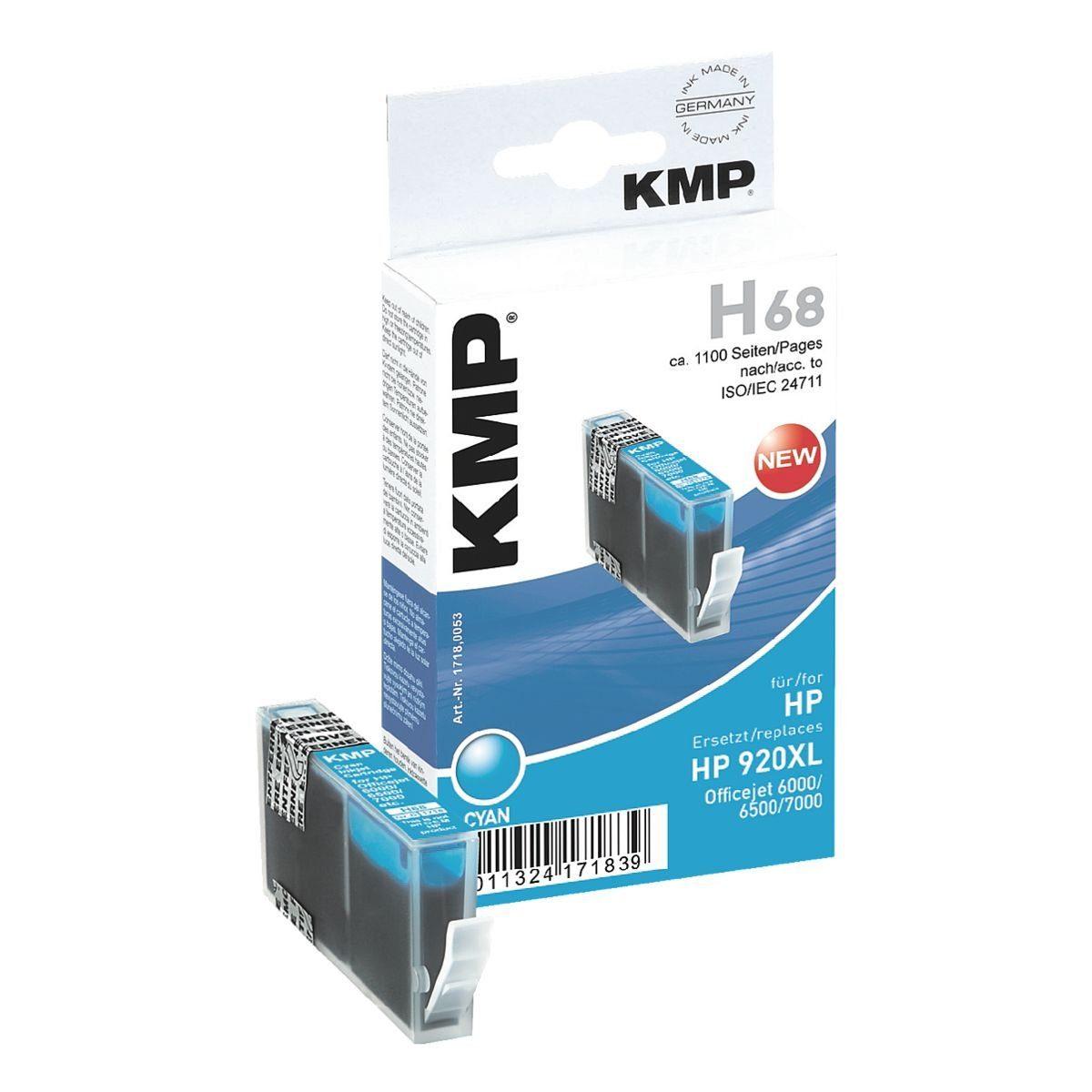 KMP Tintenpatrone ersetzt HP »CD972AE« Nr. 920XL