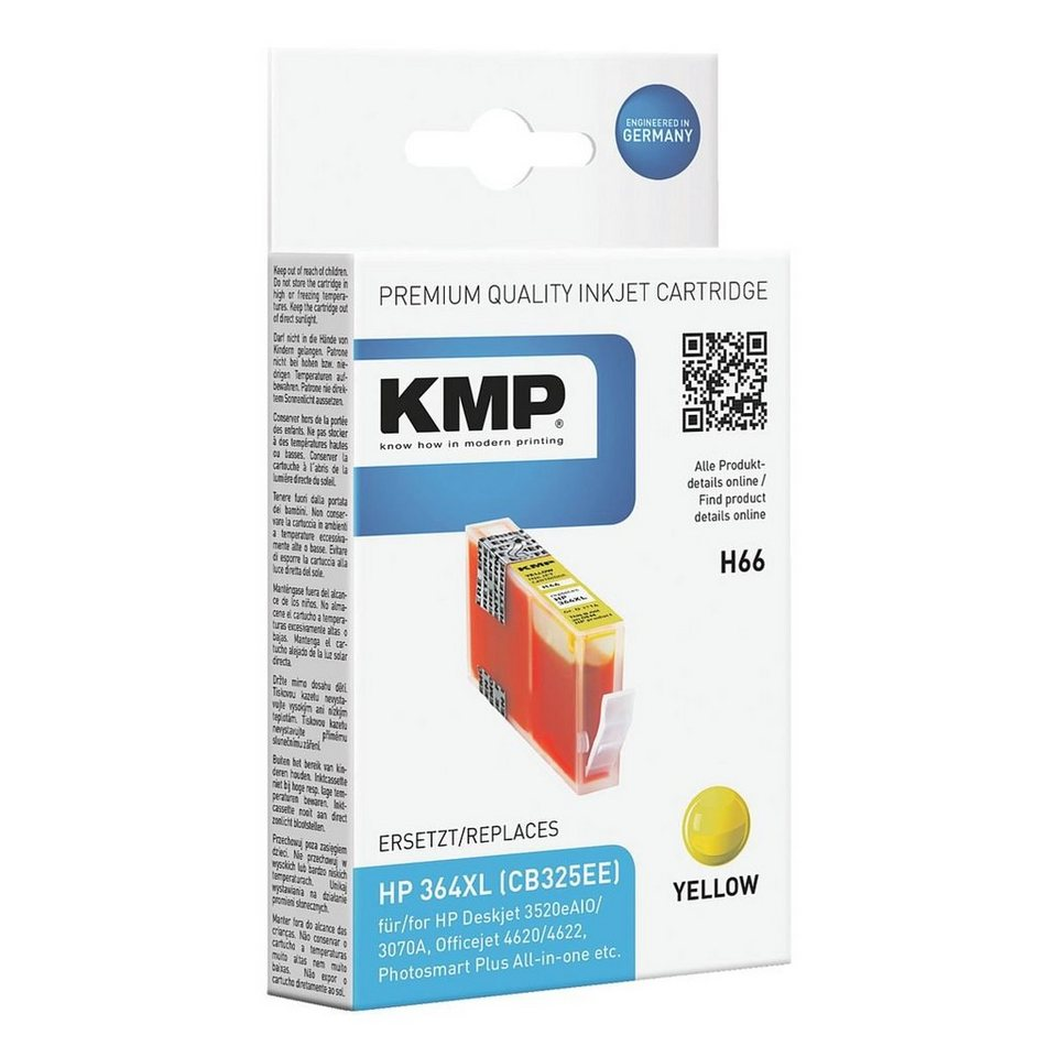 KMP Tintenpatrone ersetzt HP »CB325EE« Nr. 364XL