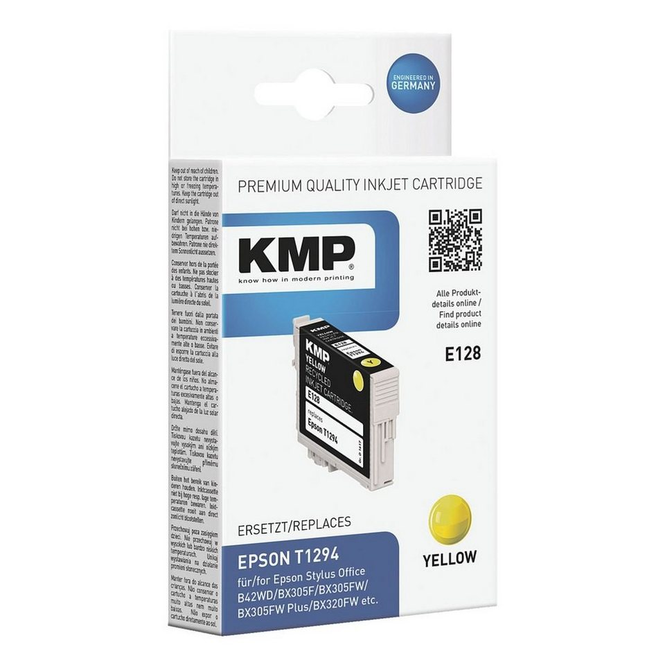 KMP Tintenpatrone ersetzt Epson »T1294«