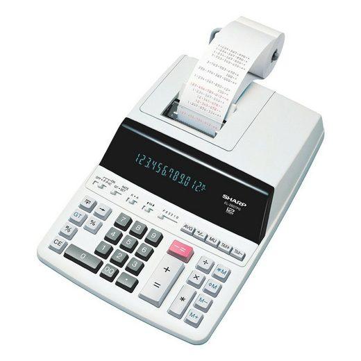 Sharp Druckender Tischrechner »EL-2607PGGY«