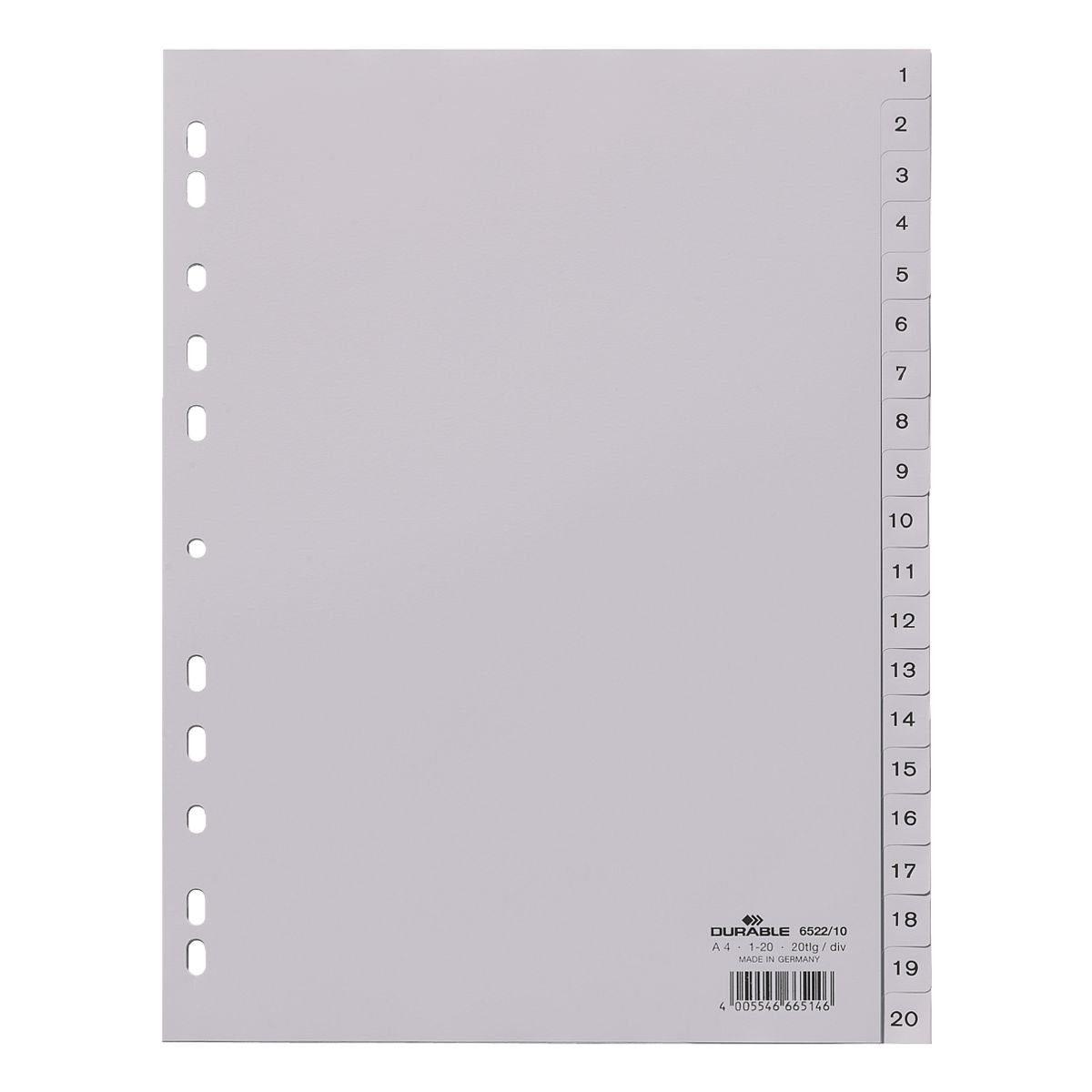 Durable Kunststoffregister