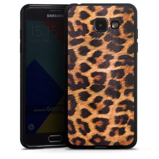 DeinDesign Handyhülle »Leo Print« Samsung Galaxy A5 (2016), Hülle Leopard Fell Animalprint