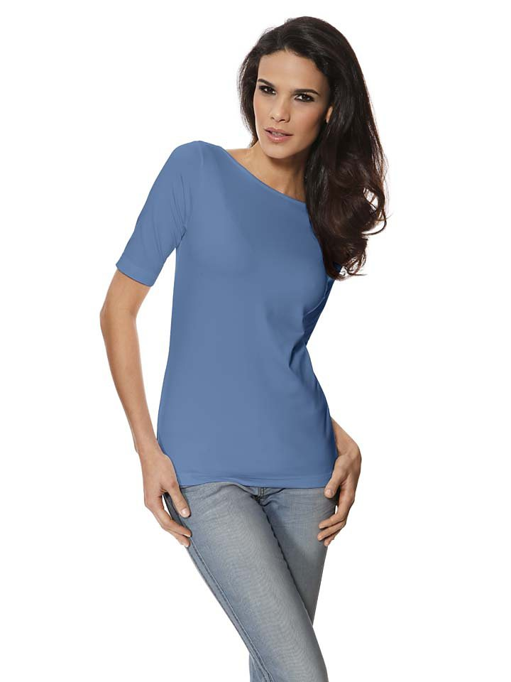 PATRIZIA DINI by Heine U-Boot-Shirt in blau