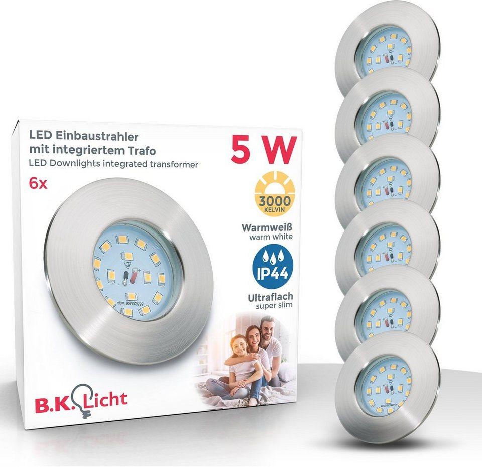 B.K.Licht LED Einbauleuchte, LED Einbaustrahler ultra flach 20 x 20W 20  Lumen 20.20K LED Einbauspot Bad Deckenspot IP20 online kaufen   OTTO