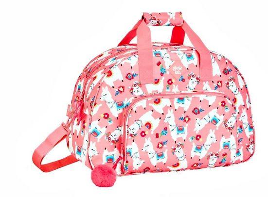 safta Sporttasche »Lama - XL Sporttasche, 48x33x21 cm« (Reißverschluss, Mädchen), Geringes-Gewicht