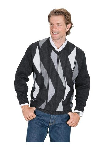 Classic V-Ausschnitt-Pullover »Pullover«