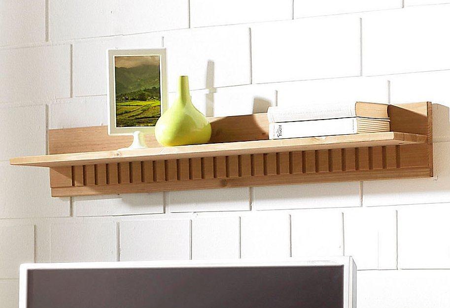 Wandboard, Home affaire, Breite 90 cm in gelaugt/geölt