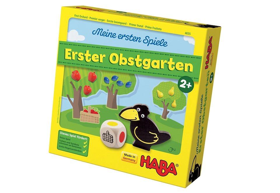 HABA® Lernspiel »Meine ersten Spiele - Erster Obstgarten« in bunt