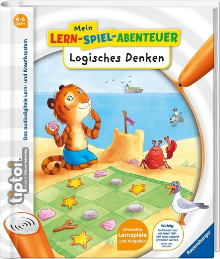 Ravensburger Buch »tiptoi® Logisches Denken«, FSC® - schützt Wald - weltweit; Made in Europe