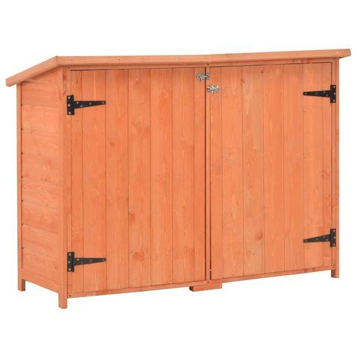 vidaXL Gartenhaus »vidaXL Garten-Geräteschuppen 120x50x91 cm Holz«