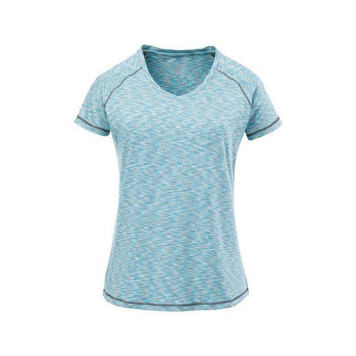DEPROC Active Funktionsshirt »JOANNA WOMEN« In melierter Optik