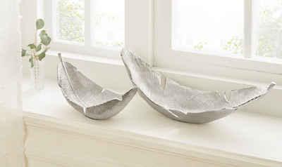 Guido Maria Kretschmer Home&Living Dekoschale (Set, 2 Stück), aus Aluminium
