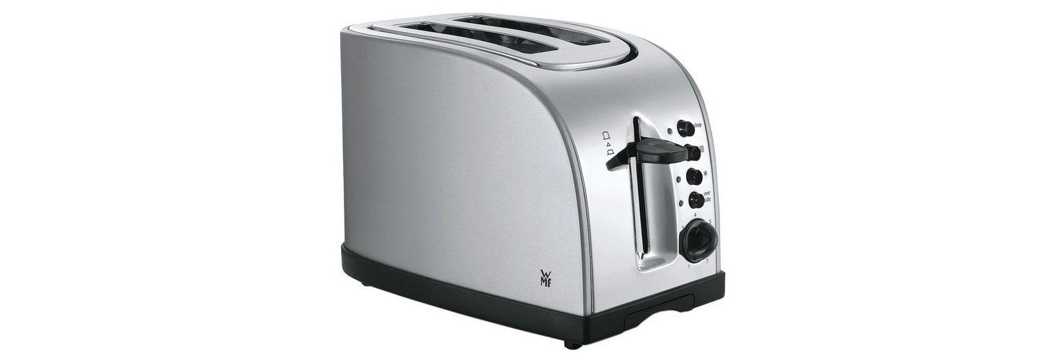 WMF Toaster Stelio, mit Bagelfunktion, 900 Watt, Edelstahl