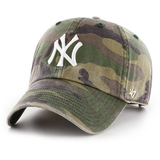 '47 Brand Baseball Cap »Relaxed Fit WASHED New York Yankees«