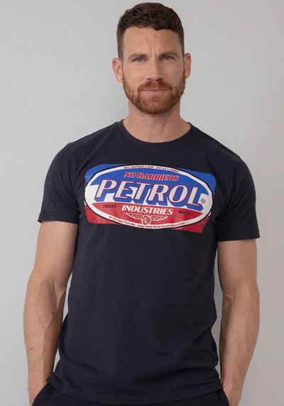 Petrol Industries T-Shirt modischer Print vorne