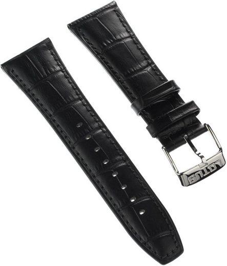 Lotus Uhrenarmband »ULA18221/S Lotus Herren Uhrenarmband 26mm«, Herren Uhrenarmband, Lederarmband schwarz, Fashion