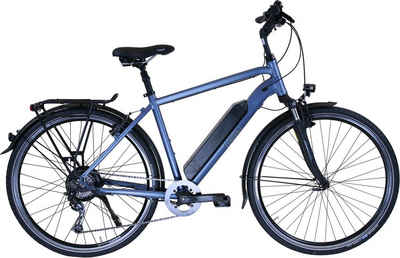HAWK Bikes E-Bike »HAWK«, 8 Gang Shimano Deore Schaltwerk, Heckmotor 250 W