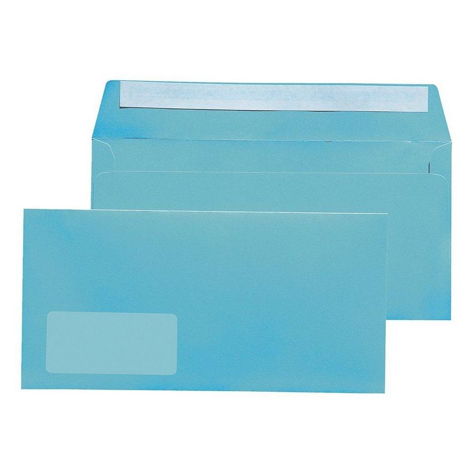 Mailmedia Farbige Briefumschläge in hellblau