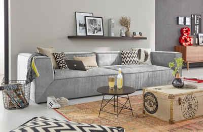 TOM TAILOR Big-Sofa »BIG CUBE«, in 2 Breiten, wahlweise mit Sitztiefenverstellung, Tiefe 129 cm