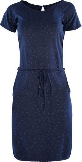 MAZINE Jerseykleid »Namu« mit Seitentaschen und dezentem Alloverprint