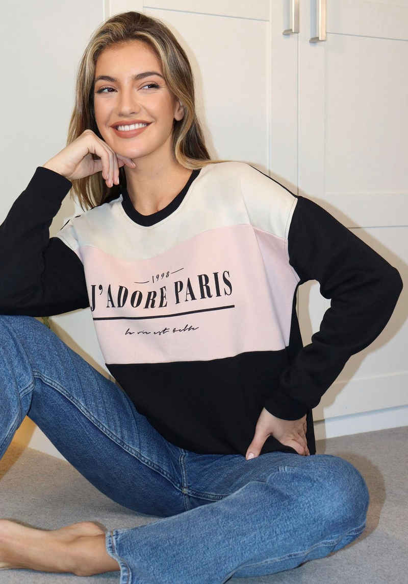 LIPSY Sweatshirt mit Frontprint