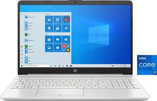 HP 15-dw3209ng Notebook (39,6 cm/15,6 Zoll, Intel Core i7, GeForce MX450, 512 GB SSD, Kostenloses Upgrade auf Windows 11, sobald verfügbar)