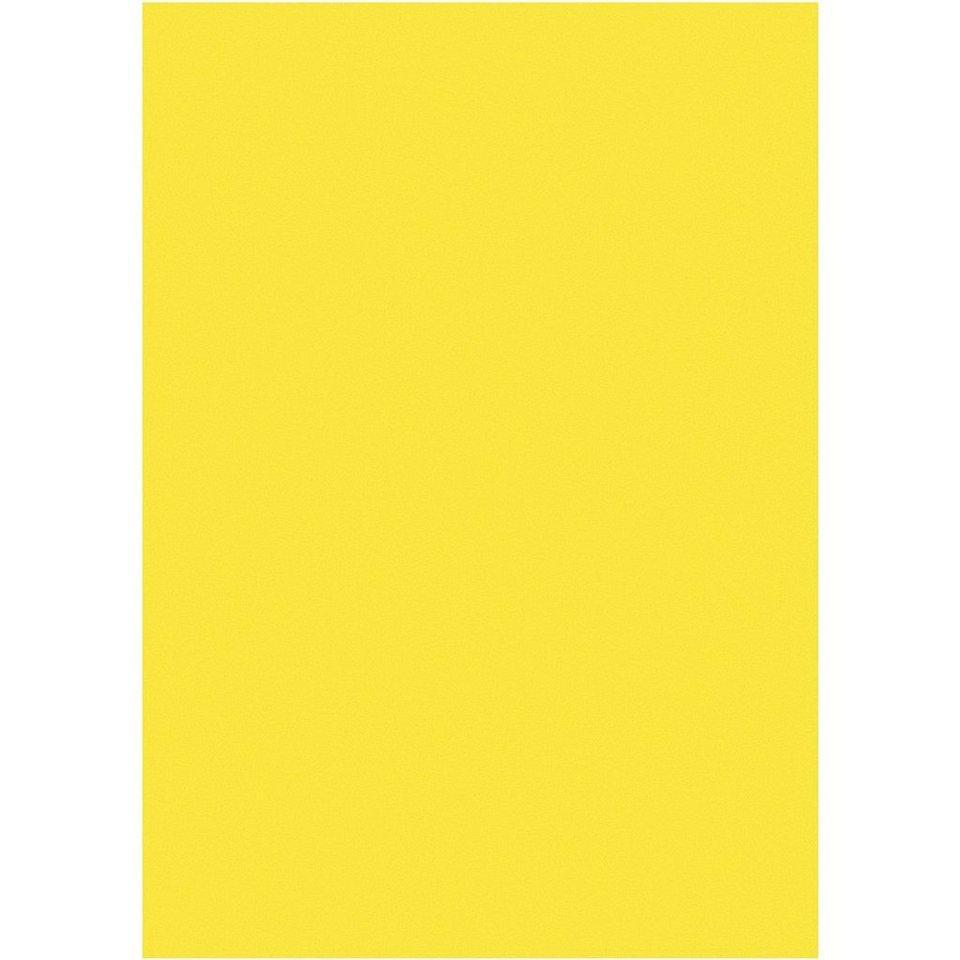 Mailmedia Farbiges Briefpapier in gelb