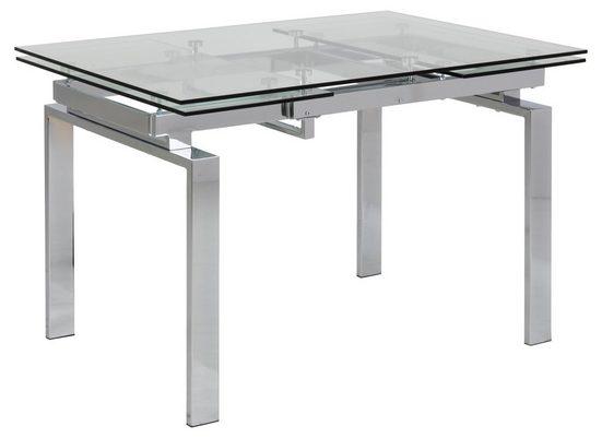ebuy24 Esstisch »Hummar Esstisch 120/200 cm inkl. 2 Zusatzplatten k«