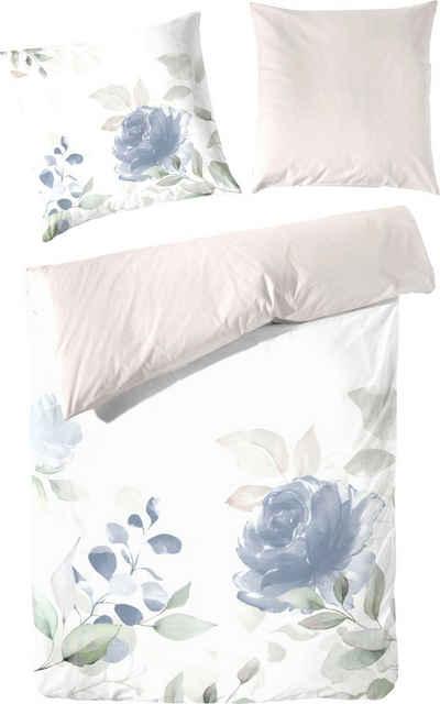 Bettwäsche »Sehnsucht«, Primera, mit zarten Blumen